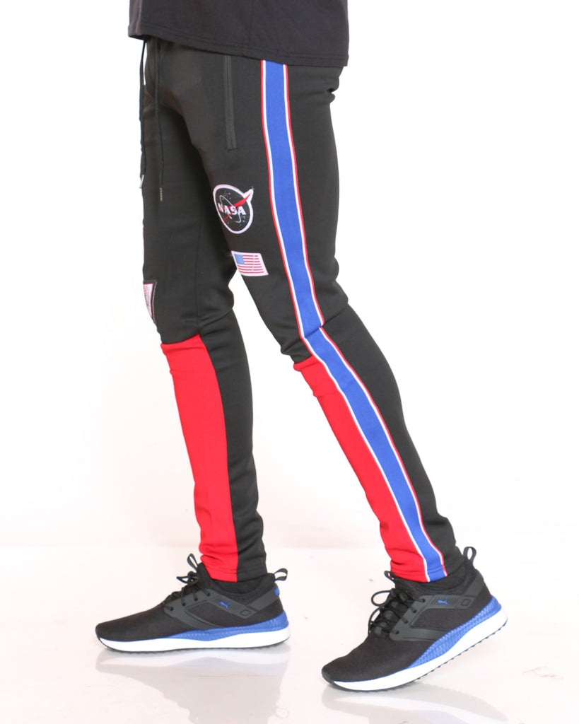 Nasa Patches Scuba Pant - Black
