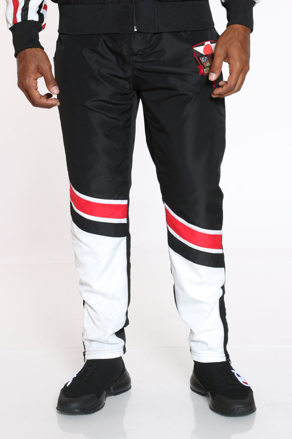 Men's Windbreaker Pant - Black-VIM.COM