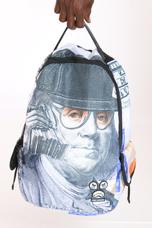Men's Money Talks Backpack - Blue-VIM.COM