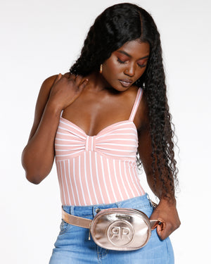 Women's Double R Rampage Fanny Pack - Rose Gold