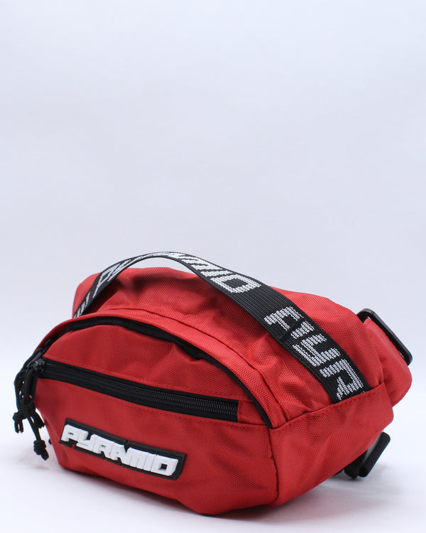 Men's Pyramid Waist Bag - Red