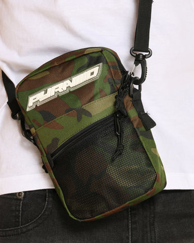 BLACK PYRAMID-Men's Black Pyramid Tech Bag - Camo-VIM.COM
