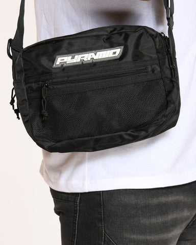 BLACK PYRAMID-Men's Pyramid Tech Bag - Black-VIM.COM