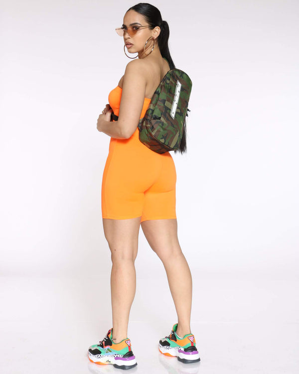 BLACK PYRAMID-Women's Pyramid Tear Drop Shoulder Bag - Camo-VIM.COM