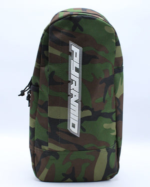 Women's Pyramid Tear Drop Shoulder Bag - Camo