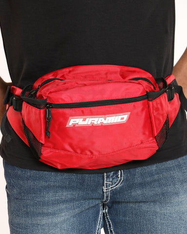 BLACK PYRAMID-Men's Pyramid Tech Sling Bag - Red-VIM.COM