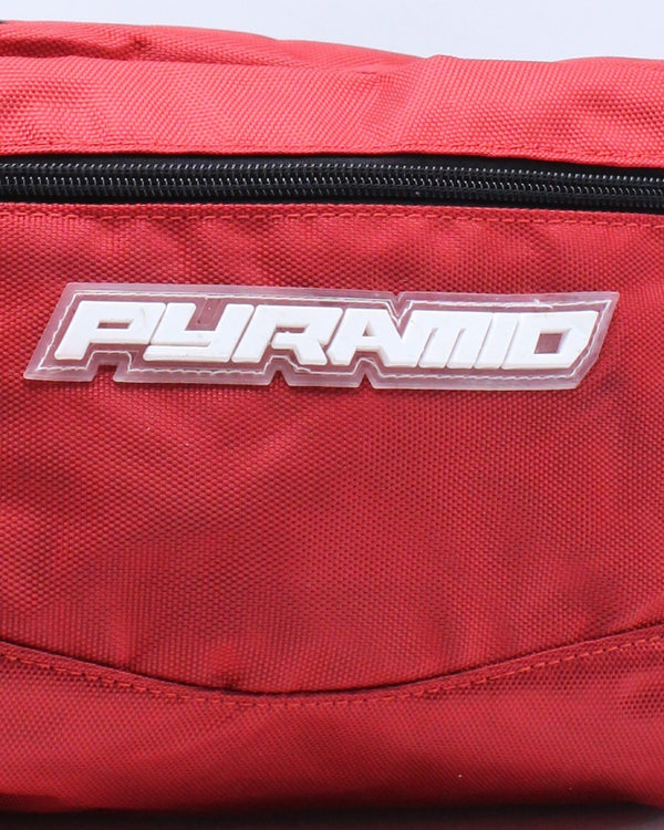Women's Pyramid Tech Sling Bag - Red