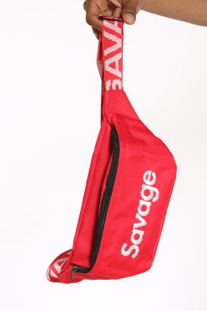 Men's Savage Fanny Bag - Red-VIM.COM