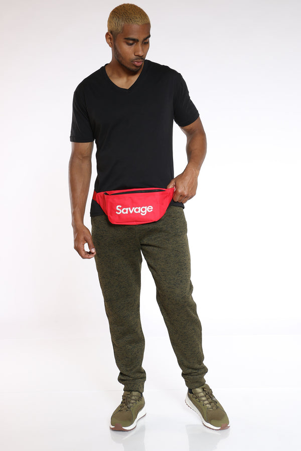 Men's Savage Fanny Bag - Red