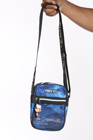 Men's Popeye Chest Bag - Black-VIM.COM