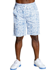 Men's FLORAL BOAT AND PINEAPPLE SHORTS (AVAILABLE IN 3 COLORS)