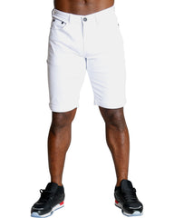 Men's BASIC STRETCH TWILL SHORTS - White