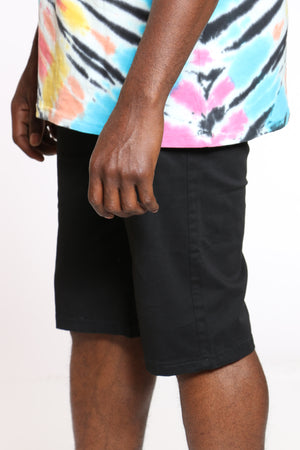 Men's 15 Inch Inseam Bermuda Short - Black
