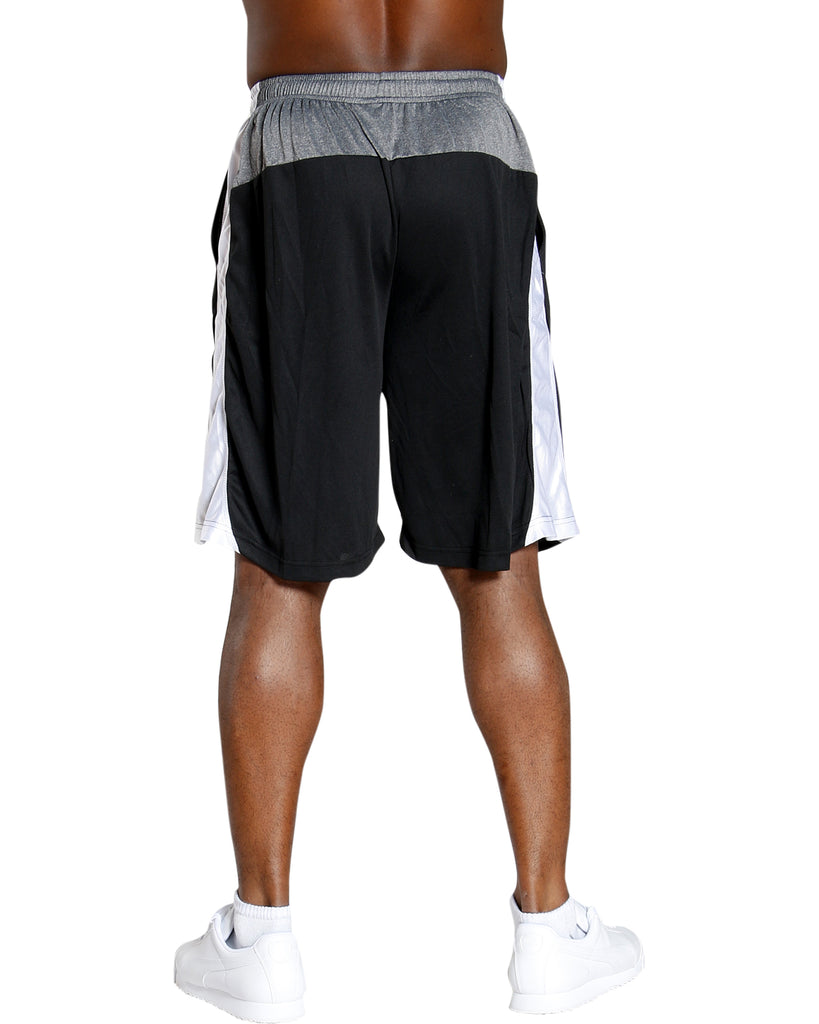 Men'S Mesh Color Block Dazzle Shorts