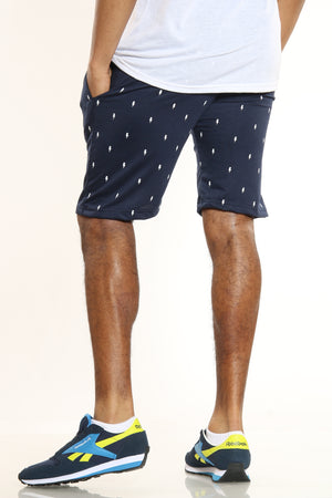 Men's Volts French Terry Short - Navy