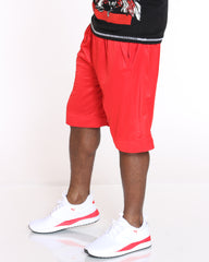VIM Thin Stripe Mesh Short - Red - Vim.com