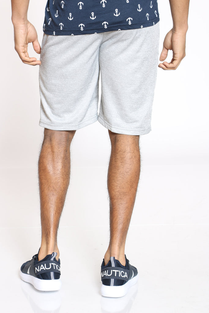 Tech Fleece Side Zip Short - Light Grey