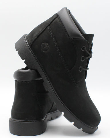 TIMBERLAND-Three Eye Chukka Boot (Pre School) - Black-VIM.COM