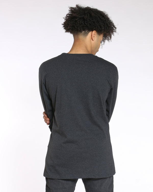 Men's Sly Solid Crew Tee - Charcoal