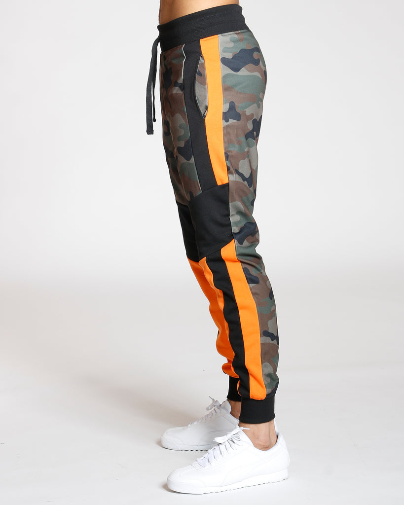 Camo Color Block Jogger