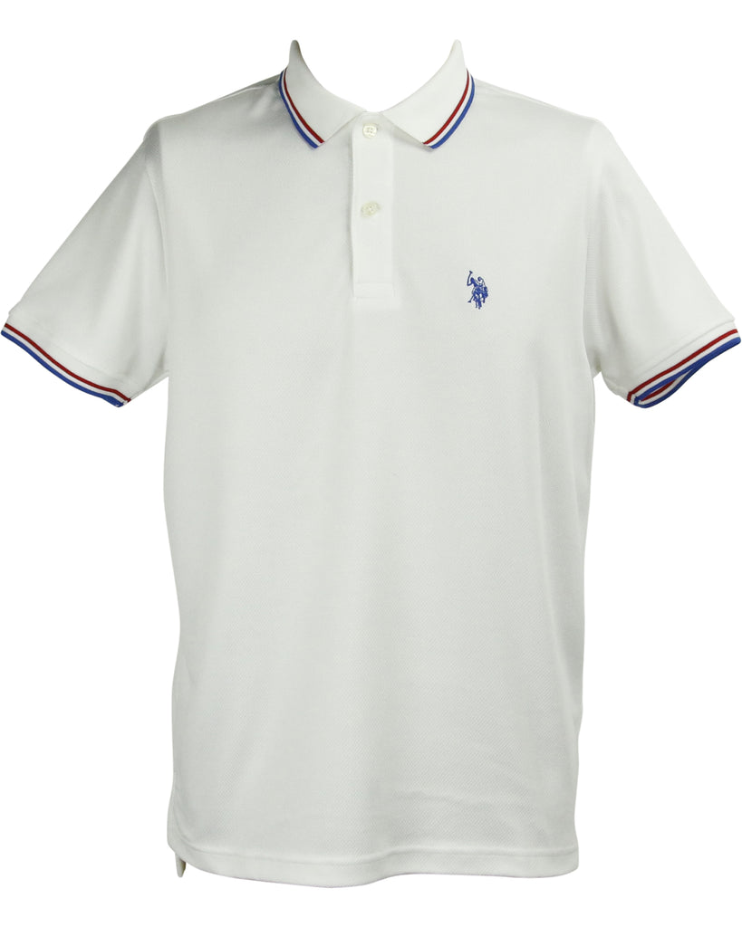 Men's Short Sleeve Slim Fit Polo Shirt
