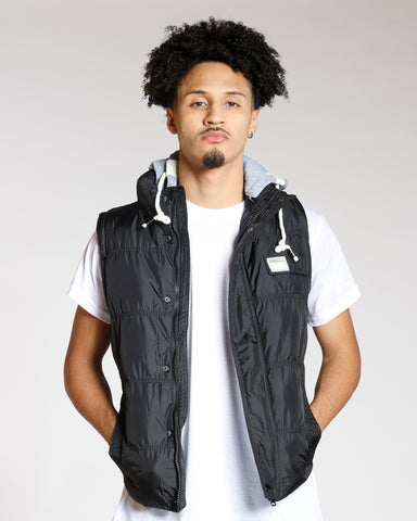 Puffer Removable Hood Vest
