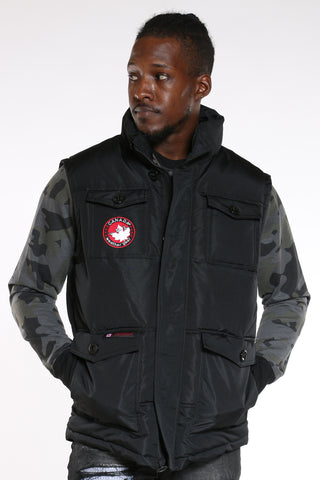 Men's Canada Weather Vest - Black