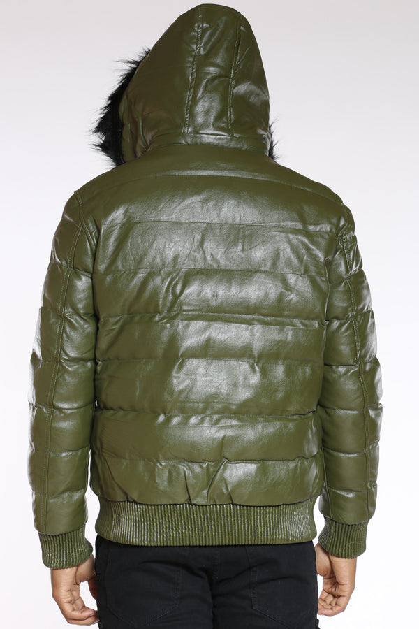 Men's Now Or Never Hooded Jacket - Olive