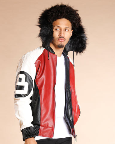 8 Ball Fur Hood Jacket