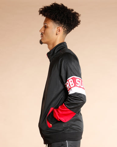 Superb Taping Windbreaker Jacket