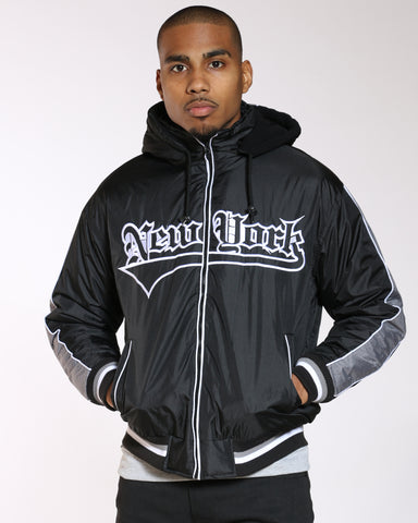 VIM New York Light Nylon Jacket - Black - Vim.com
