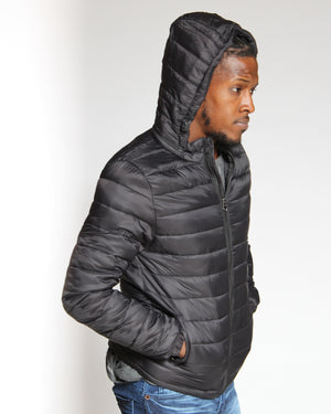 VIM Barry Light Bubble Jacket - Black - Vim.com