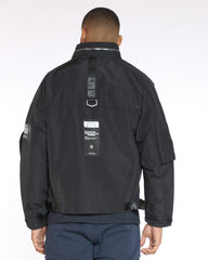 Extreme Attached Pouch Jacket - Black