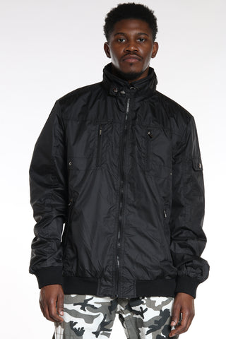 Men's Moto Light Jacket - Black-VIM.COM