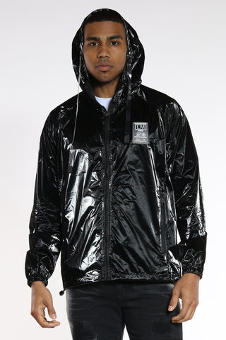 You Can't See Me Windbreaker - Black-VIM.COM