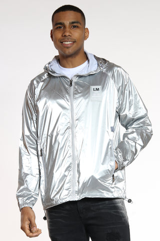 You Can't See Me Windbreaker - Silver-VIM.COM