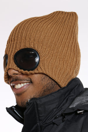 Men's Goggles Attached Beanie Hat  - Timberland