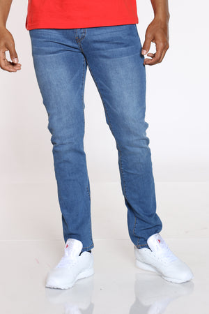 Men's Straight Leg Jean - Light Blue-VIM.COM