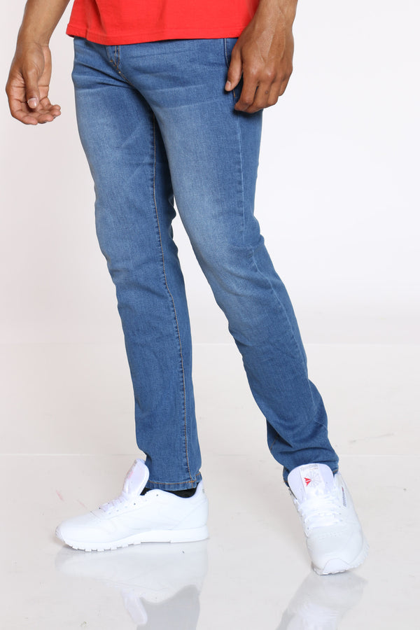 Men's Straight Leg Jean - Light Blue