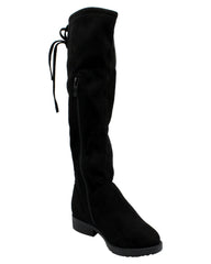 VIM Girls Over The Knee Boots - Black - Vim.com