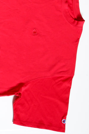 Crew Tee (Big Men) - Crimson