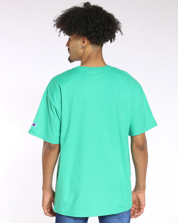 Men's Champion Classic Graphic Tee - Green Myth