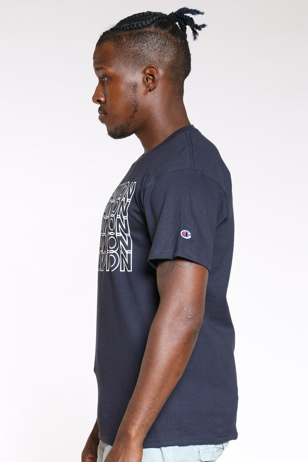 Men's Repeat Tee - Navy