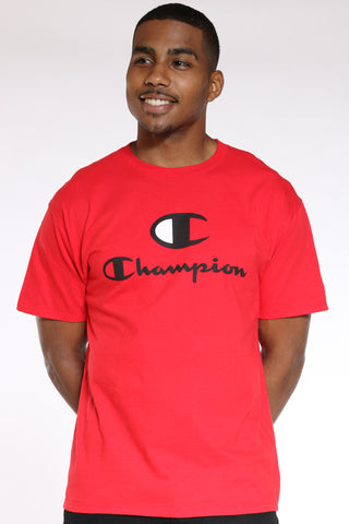 Men's Graphic Tee - Scarlet