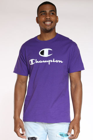 Men's Graphic Tee - Purple