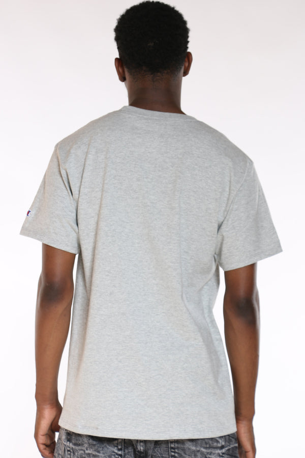 Men's Script Tee - Oxford