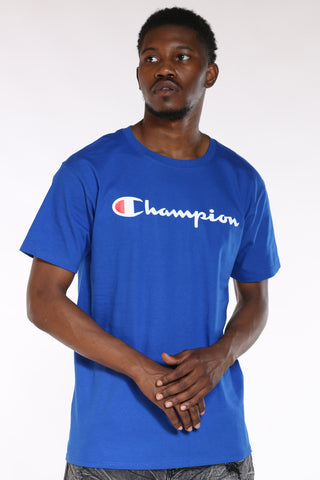 CHAMPION-Men's Script Tee - Surf Web-VIM.COM