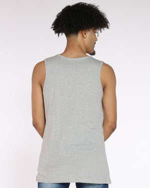Men's American Flag Tank Tee - Grey
