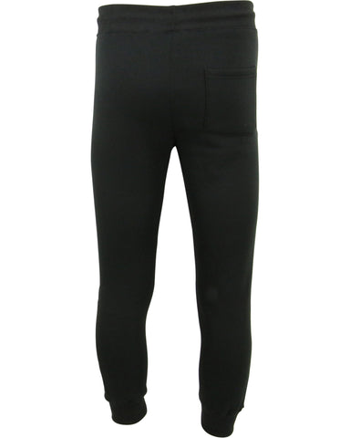 Men'S Fleece Joggers With Knee Patch And Side Zips