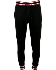 VIM Men'S Stripped Rib Fleece Joggers - Vim.com